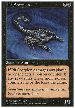 Pit Scorpion, 5th Edition