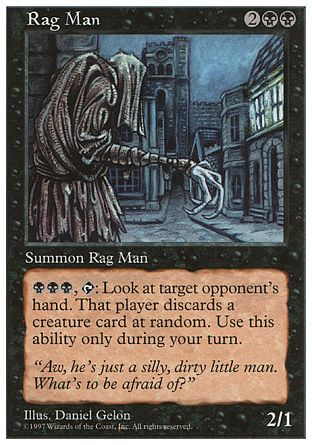 Rag Man, 5th Edition