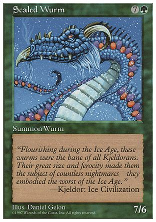 Scaled Wurm, 5th Edition