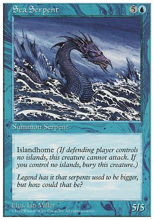 Sea Serpent, 5th Edition