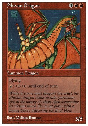 Shivan Dragon, 5th Edition