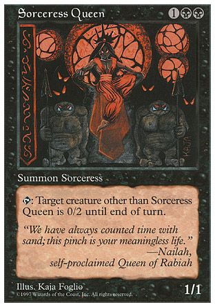Sorceress Queen, 5th Edition