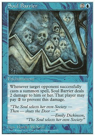 Soul Barrier, 5th Edition
