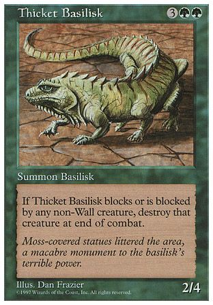Thicket Basilisk, 5th Edition