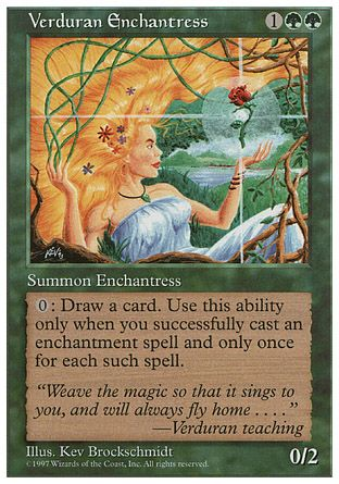 Verduran Enchantress, 5th Edition