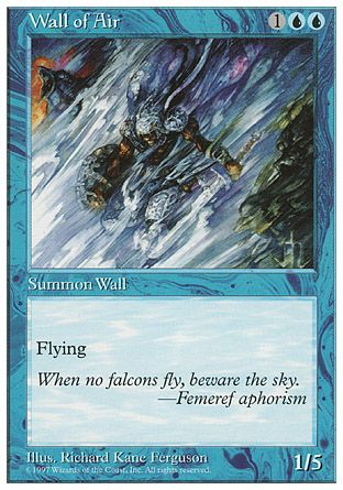 Wall of Air, 5th Edition