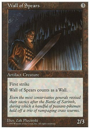 Wall of Spears, 5th Edition