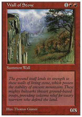 Wall of Stone, 5th Edition