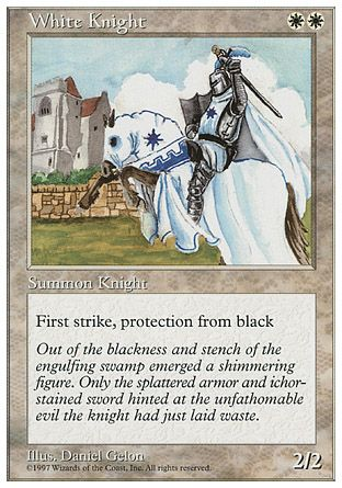 White Knight, 5th Edition