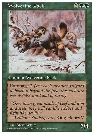 Wolverine Pack, 5th Edition