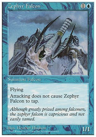 Zephyr Falcon, 5th Edition
