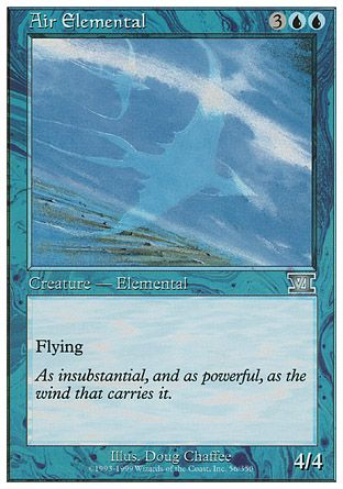 Air Elemental, 6th Edition