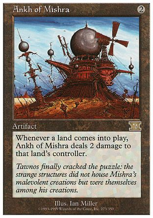 Ankh of Mishra, 6th Edition