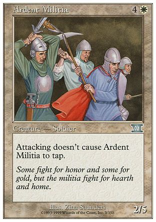 Ardent Militia, 6th Edition