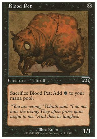 Blood Pet, 6th Edition
