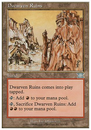 Dwarven Ruins, 6th Edition