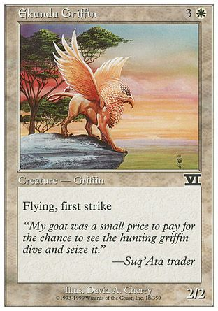 Ekundu Griffin, 6th Edition
