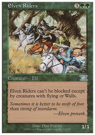 Elven Riders, 6th Edition