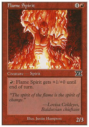Flame Spirit, 6th Edition