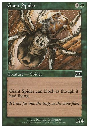 Giant Spider, 6th Edition