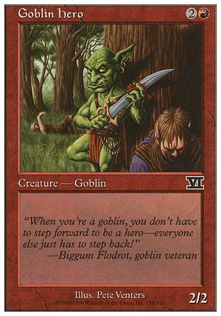 Goblin Hero, 6th Edition