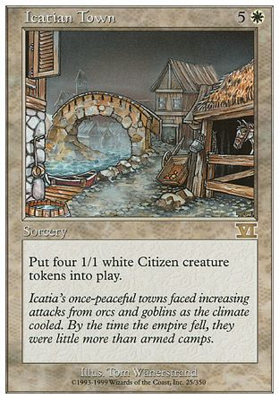 Icatian Town, 6th Edition