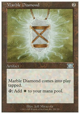 Marble Diamond, 6th Edition