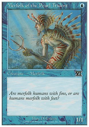 Merfolk of the Pearl Trident, 6th Edition
