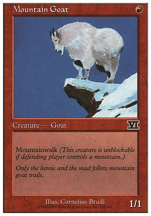 Mountain Goat, 6th Edition