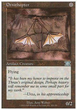 Ornithopter, 6th Edition