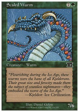 Scaled Wurm, 6th Edition
