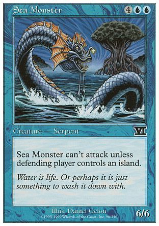 Sea Monster, 6th Edition