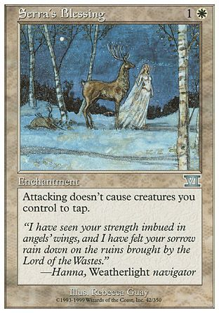 Serra's Blessing, 6th Edition