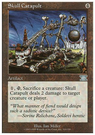 Skull Catapult, 6th Edition