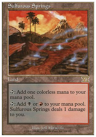Sulfurous Springs, 6th Edition