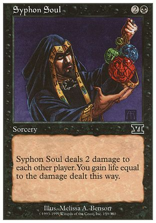 Syphon Soul, 6th Edition