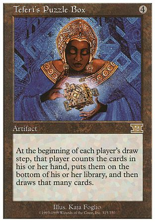 Teferi's Puzzle Box, 6th Edition