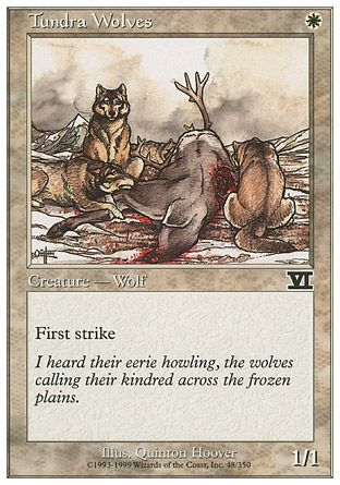 Tundra Wolves, 6th Edition