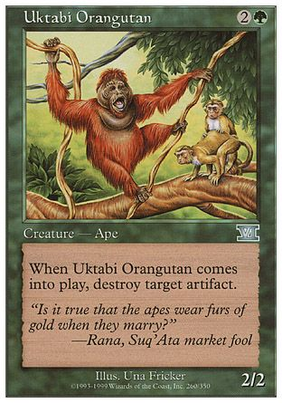 Uktabi Orangutan, 6th Edition