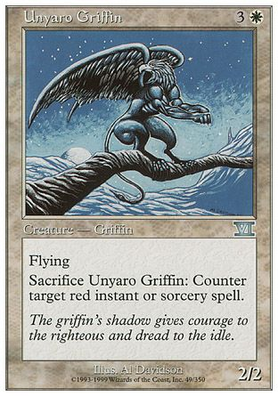 Unyaro Griffin, 6th Edition