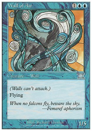 Wall of Air, 6th Edition