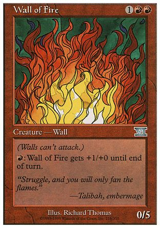 Wall of Fire, 6th Edition