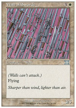 Wall of Swords, 6th Edition