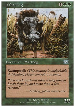 Warthog, 6th Edition