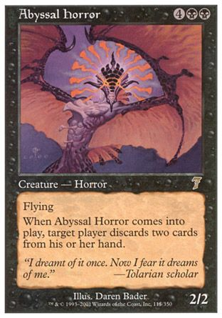 Abyssal Horror, 7th Edition