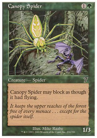 Canopy Spider, 7th Edition