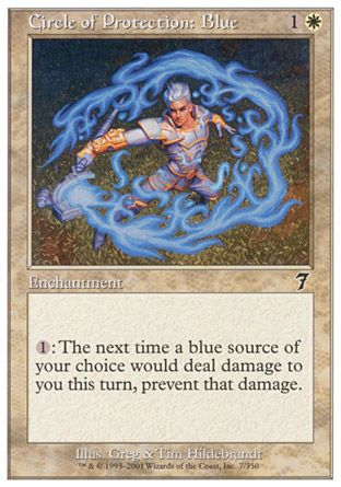 Circle of Protection: Blue, 7th Edition