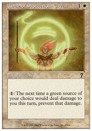 Circle of Protection: Green, 7th Edition