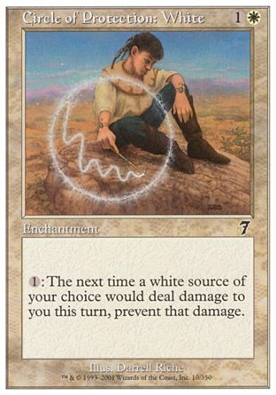 Circle of Protection: White, 7th Edition