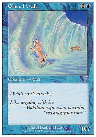 Glacial Wall, 7th Edition